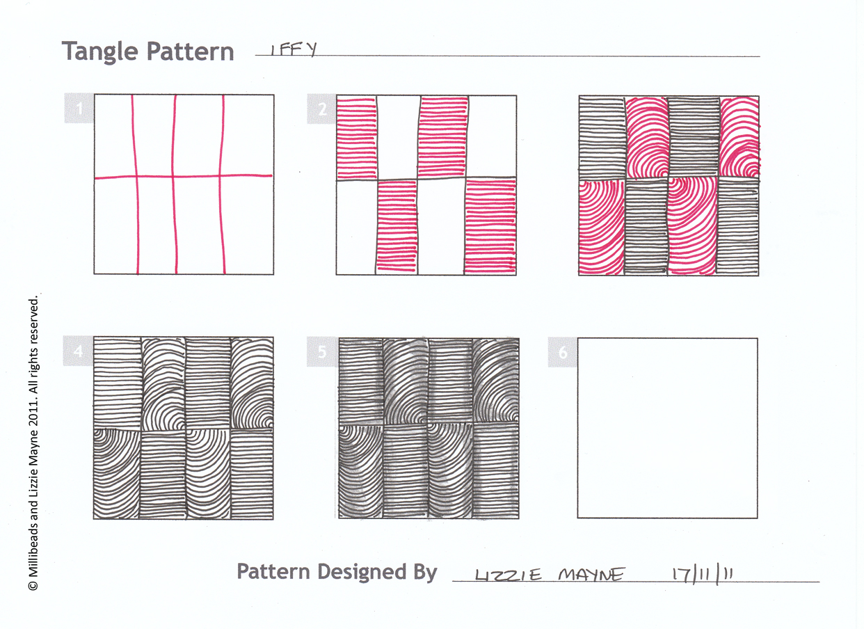 New pattern 'Iffy' as in dodgy.   Lizzie Mayne Patterns Icon