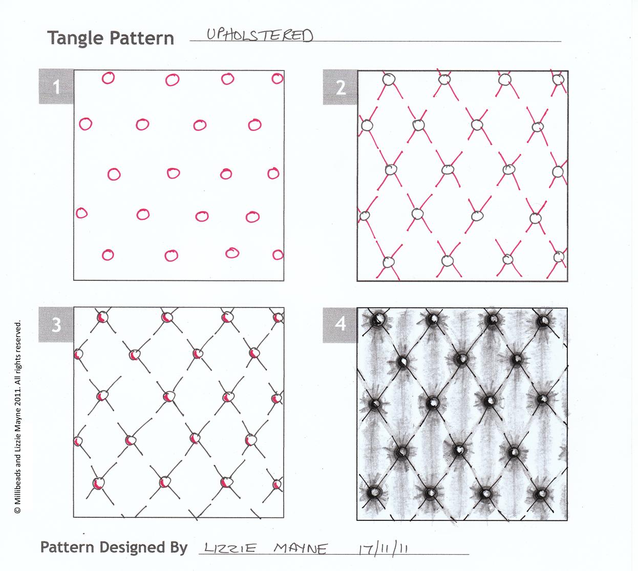 Zentangles Patterns Step By Step November | 2011 | Lizz...
